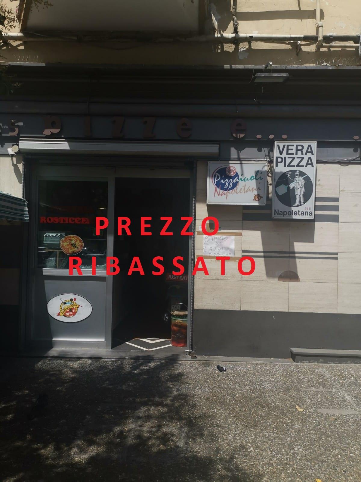 """ATTIVITA COMMERCIALE """"PIZZE E PIZZE"""" Soccavo"""
